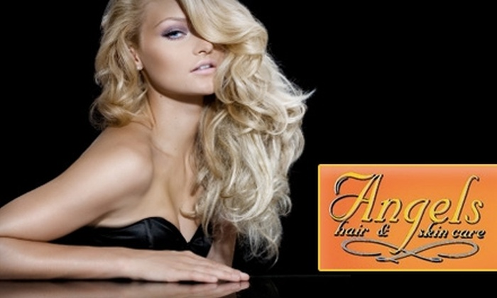 Angels Hair & Skin Care - Lyon Park: $59 for $120 Worth of Hair, Waxing, and Facial Services at Angels Hair & Skin Care