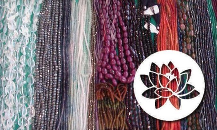 Natural Expressions of Los Gatos - Los Gatos: $15 for $30 Worth of Beads, Fabrics, and More at Natural Expressions of Los Gatos