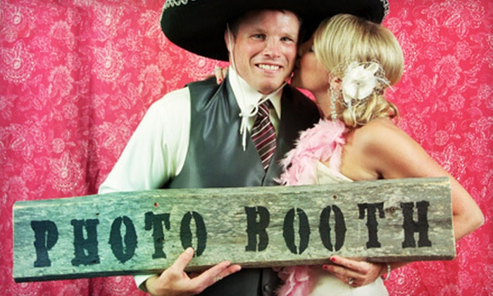 Two Hearts Media - Regina: $149 for a Two-Hour Photo-Booth-Rental Package with DVD from Two Hearts Media ($300 Value)