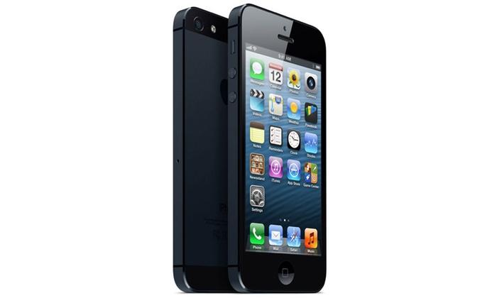 apple iphone 5 64 go reconditionn groupon. Black Bedroom Furniture Sets. Home Design Ideas