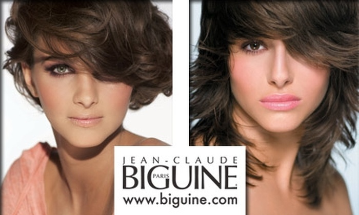 Jean-Claude Biguine - Upper East Side: $45 for a Haircut, Shampoo, Blow Dry, and Kerastase Treatment at Jean-Claude Biguine