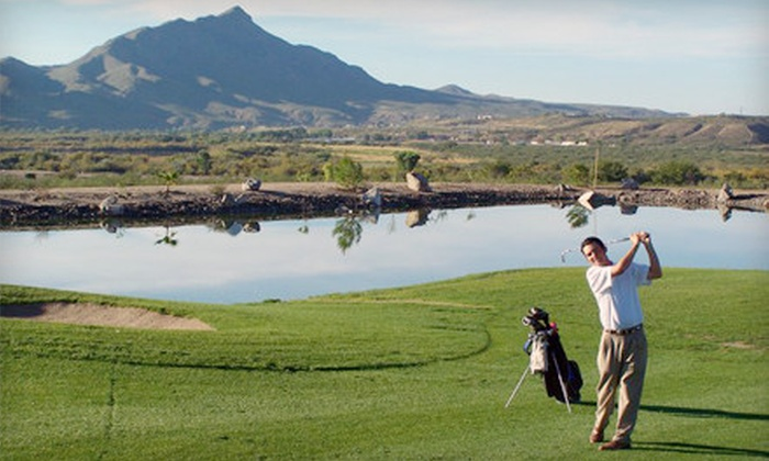 Turtleback Mountain Resort - Elephant Butte: $48 for a Golf Outing for Two at Turtleback Mountain Resort in Elephant Butte (Up to $96 Value)