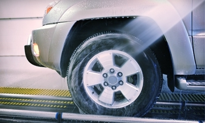"Carisma Wash - Multiple Locations: $25 for Five ""The Works!"" Car Washes at Carisma Wash ($50 Value)"