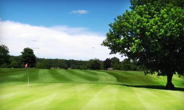 Mulberry Hills Golf Club - Oxford: 18-Hole Round of Golf for Two with Cart on a Weekday or Weekend at Mulberry Hills Golf Club in Oxford (Up to 52% Off)
