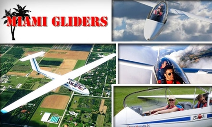 Miami Gliders - Everglades: $99 for a Scenic Glider Ride for 1 at Miami Gliders ($135 Value)