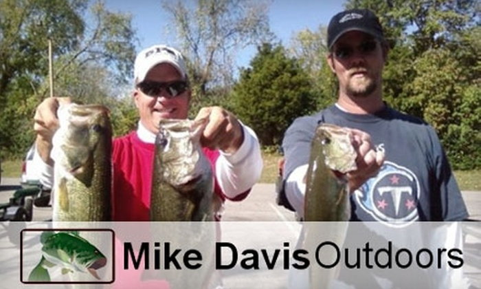 Mike Davis Outdoors - 3: $75 for Two Hours of Guided Fishing with Mike Davis Outdoors on Old Hickory Lake ($200 Value)