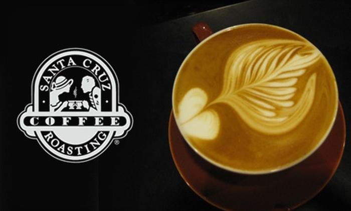 Santa Cruz Coffee Roasting Company - Multiple Locations: $8 for $20 Worth of Locally Roasted Fair-Trade Coffee and More from Santa Cruz Coffee Roasting Company