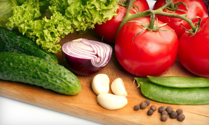 Organics Delivered 2 You: $23 for Box of Assorted Organic Fruits, Vegetables, or Both from Organics Delivered 2 You ($47 Value)