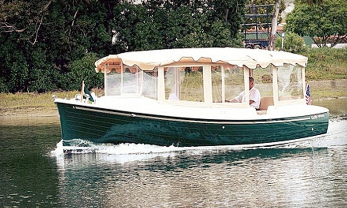 Boston Green Cruises - Downtown: Boston Harbor or Boston Harbor and Charles River Combo Tour for Two from Boston Green Cruises (Up to Half Off)