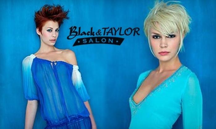 Black & Taylor Salon - Franklin: $35 for $75 worth of services at Black & Taylor Salon
