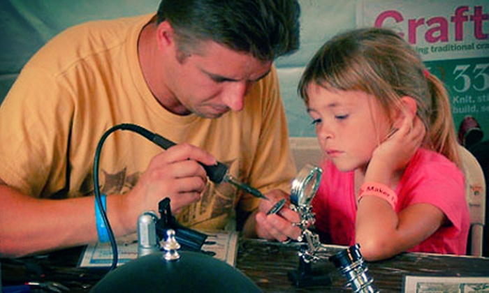 Fort Wayne Regional Maker Faire - Downtown Fort Wayne: Single-Day Admission for Two or Four to the Fort Wayne Regional Maker Faire on September 14 or 15 (Up to 53% Off)