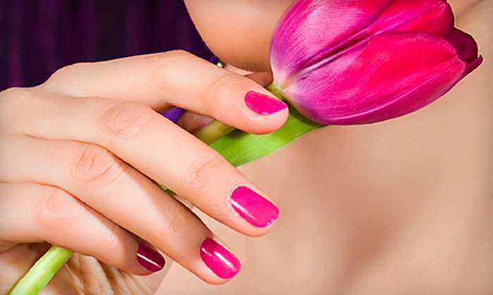 Nail Time - Seattle: $30 for Two Shellac Manicures at Nail Time (Up to $60 Value)
