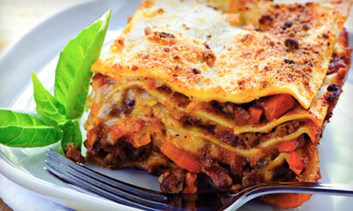 National Pasta Corp. - Cambridge: $9 for a Large Ready-to-Bake Meat Lasagna from National Pasta Corp. ($18.50 Value)
