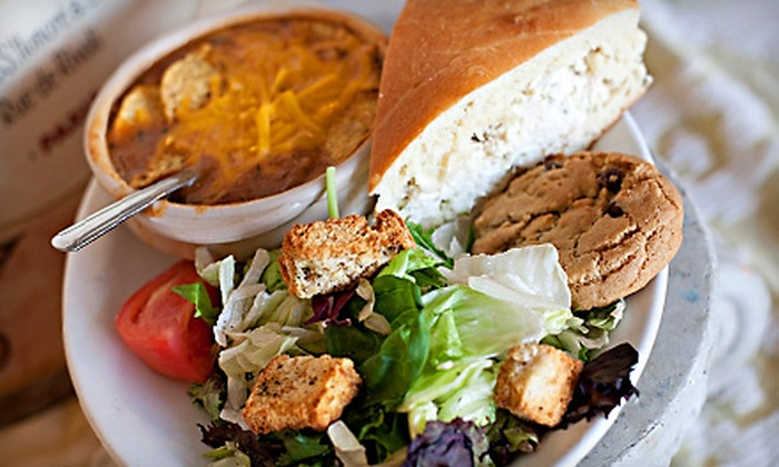 The Bake Shoppe & Cafe - Cypress: Lunch for One, Two, or Four at the Bake Shoppe & Cafe