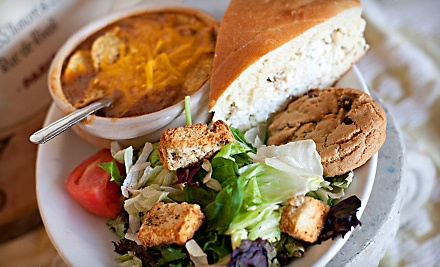The Bake Shoppe & Cafe: Medium Combo Lunch - The Bake Shoppe & Cafe in Cypress