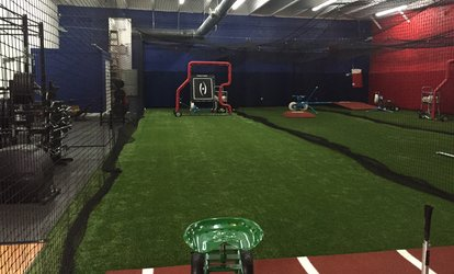 image for One or Five 30- or 60-Minute Cage Rental Session at Play More <strong>Baseball</strong> (Up to 55% Off)