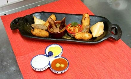 Bobotie Spezial: Appetizer-Teller für zwei oder vier Personen inkl. Dessert bei Bobotie Neu (bis zu 65% sparen*)