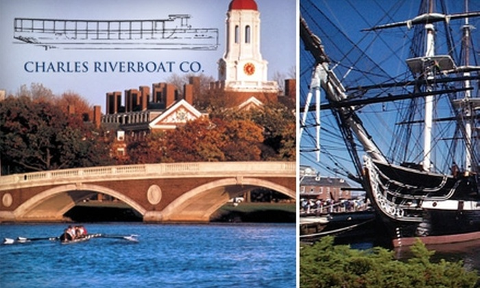 Charles Riverboat Company - East Cambridge: $8 for a Boat Tour from Charles Riverboat Company