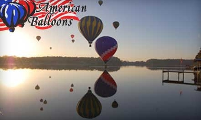 American Balloons - Lake Marjorie Estates: $110 for One Ticket for a One-Hour Hot Air Balloon Ride at American Balloons in Land O Lakes ($202.23 Value)