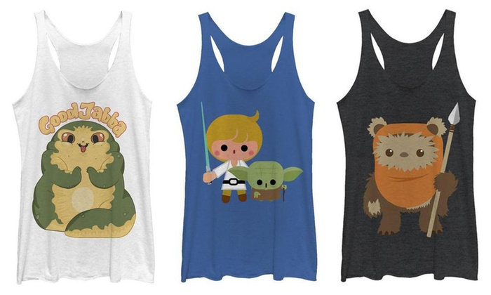 38375661258c7 Up To 34% Off on Women s Star Wars Tank Top