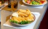 Britannia Arms - Old Monterey Business District: Pub Food and Drinks at Britannia Arms (40% Off). Two Options Available.