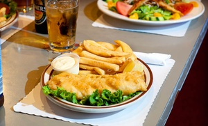 Britannia Arms: Pub Food and Drinks at Britannia Arms (40% Off). Two Options Available.