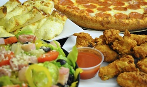 Nona's Pizza & Catering: Brick-Oven Pizza at Nona's Pizza & Catering (Up to 47% Off)