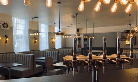 Two-Course Indian Meal with Drink and Side for Up to Four at The Pilot Pub
