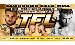 Gala Zawodowa MMA Thunderstrike Fight League: 119 zł: bilet VIP dla 2 osób na Galę MMA Thunderstrike Fight League w Lublinie (zamiast 200 zł)