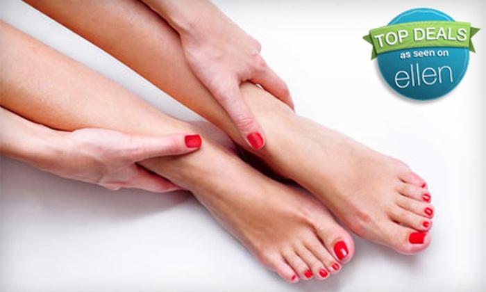 Regal Nails Salon - Albert Park: $42 for a Mani-Pedi at Regal Nails Salon and Spa (Up to $85 Value)