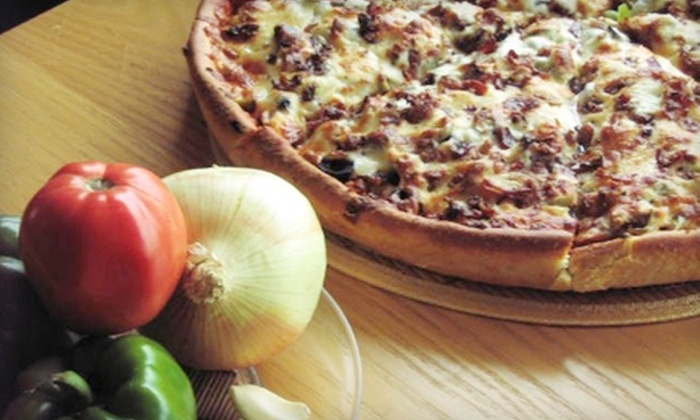 Jimano's Pizzeria Chicago - Multiple Locations: $10 for $20 Worth of Pizza and Drinks at Jimano's Pizzeria in Glenview