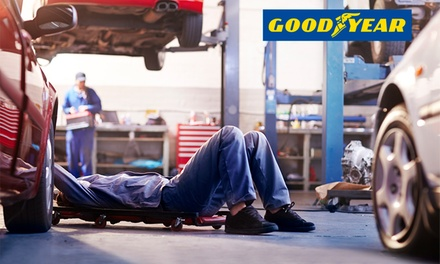 $59 for a Car Service and Wash Package or $79 with Wheel Alignment at Goodyear Autocare, Thomastown Up to $299 Value