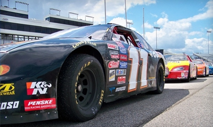 Drivetech Racing School - Indian Springs: $139 for a 15-Lap Racing Experience ($299 Value) or $29 for a Four-Lap Ride Along ($59 Value) at Drivetech Racing School in New Smyrna Beach