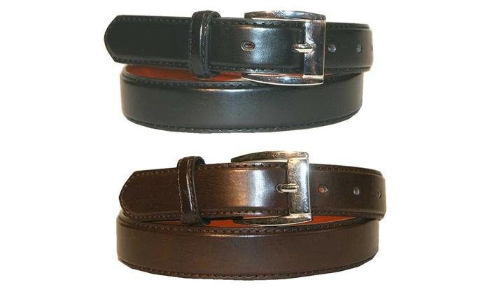 Buy 1 Get 1 Free: Men's Leather Dress Belts