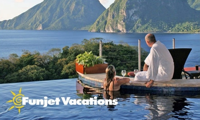 Funjet Vacations: $100 for $200 Toward a Vacation Package from Funjet Vacations