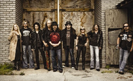Live Nation: Lynard Skynyrd and the Doobie Brothers at the PNC Banks Arts Center on Sun., Aug. 21 at 7:00PM: Sections 401-405 - Lynyrd Skynyrd and the Doobie Brothers in Holmdel