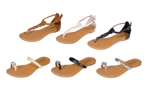 A.S.N.Y Women's Lorna and Katyah Sandals at A.S.N.Y Women's Lorna and Katyah Sandals, plus 6.0% Cash Back from Ebates.