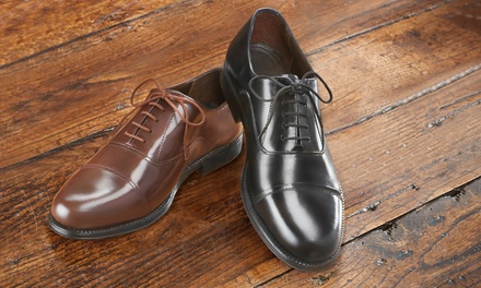 Men's Leather Oxford Shoes
