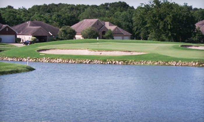 Country Place Golf Club - South Acres: Round of Golf for Two or Four with Range Balls and Lunch at Country Place Golf Club in Pearland (Up to 56% Off)