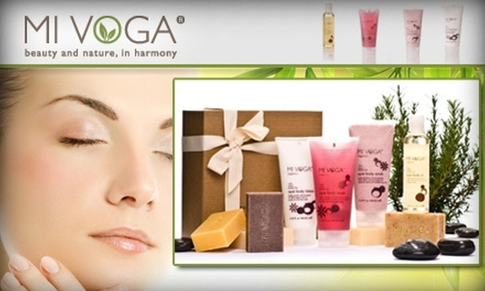 Mi Voga Organics - Los Angeles: $12 for $25 Worth of Organic Beauty Products From Mi Voga Organics