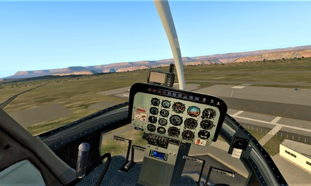 Helicopter Flight Simulator Experience: 30 $45 or 60 Minutes $89 at Jet Flight Simulator Adelaide Up to $198 Value