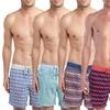Mr. Swim Men's Flat-Front Swim Trunks