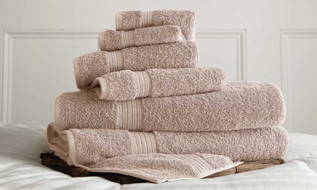 100% Cotton 600GSM Bath Towels: 2pc (oversized sheets), 6pc or 16pc