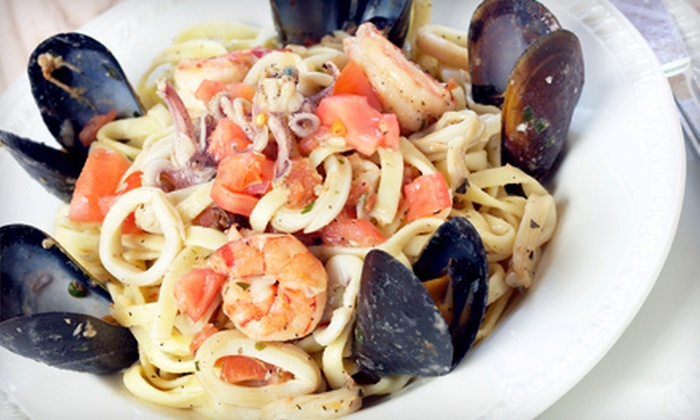 Franks at the Old Mill - Fayetteville: Up to Half Off a Mediterranean Dinner for Two or Four at Franks at the Old Mill in Fayetteville