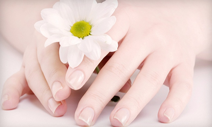 Who Does Your Hair - Northwest: Classic or Deluxe Mani-Pedi from Andrea Jones at Who Does Your Hair (Half Off)