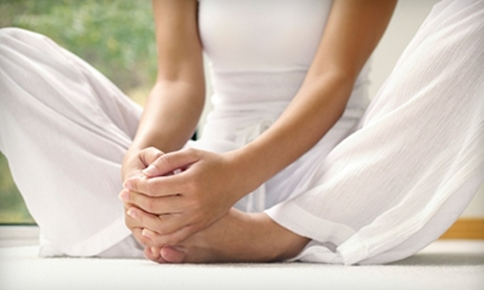 Peacebank Yoga - Centennial: $30 for Five Yoga Classes at Peacebank Yoga in Redwood City (Up to $75 Value)