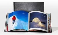 1 ou 2 livres en cuir avec couverture rigide de 100 pages dès 21,95 € avec Printerpix