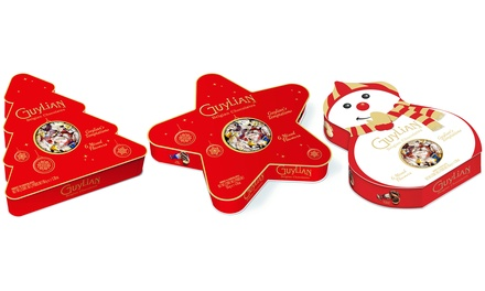 One or Three Guylian Chocolate Christmas Gift Boxes