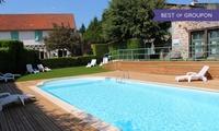 Vitrac : 1 à 3 ou 5 nuits pdj Spa et repas en option au Relais du Silence Auberge La Tomette pour 2 personnes