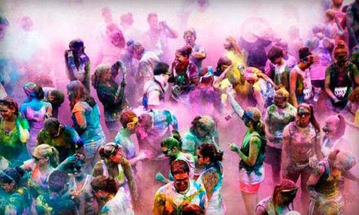 Color Me Rad - Moline: $19.99 for the Color Me Rad 5K Run at iWireless Center on Saturday, August 24 (Up to $40 Value)